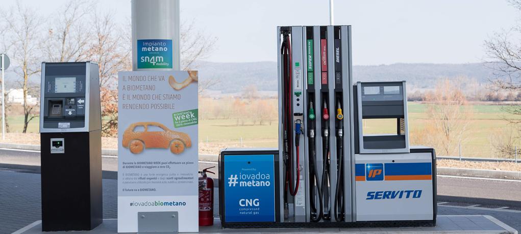 Snam inaugura a Verona la sua prima stazione self-service di gas naturale e biometano